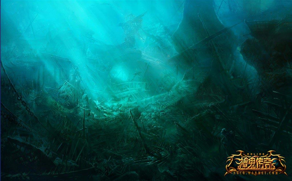 海域惊魂《神鬼传奇》幽灵岛