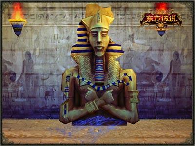 吉萨金字塔中的法老石像.jpg