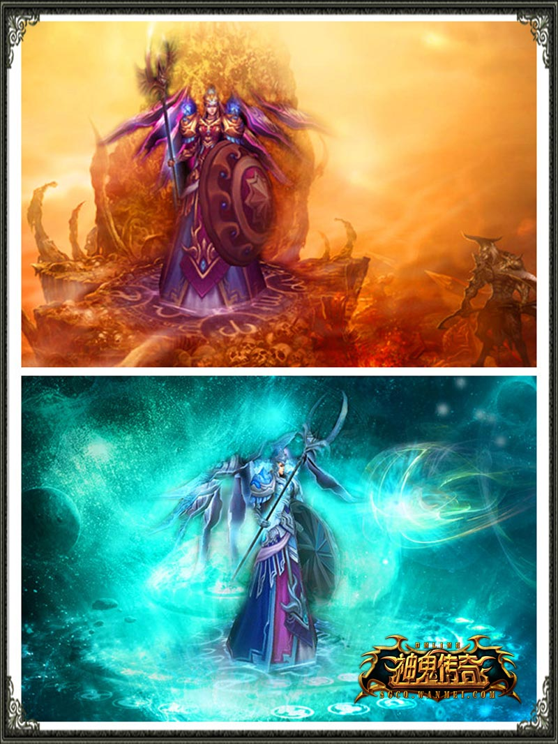 《神鬼传奇》四大法器齐上阵 决战天域贺新年