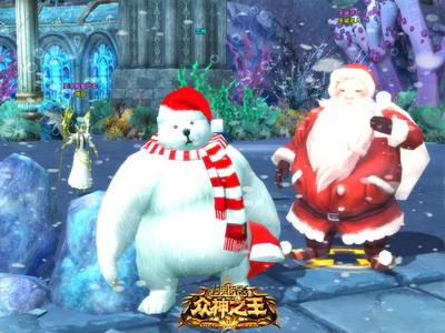 圣诞节到来,雪熊boss闻到甜美的糖果味道已经流口水啦!