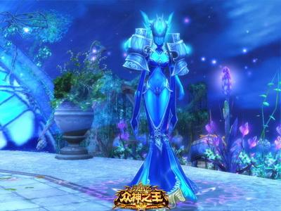幽蓝冷艳 水瓶星座女王等你征服