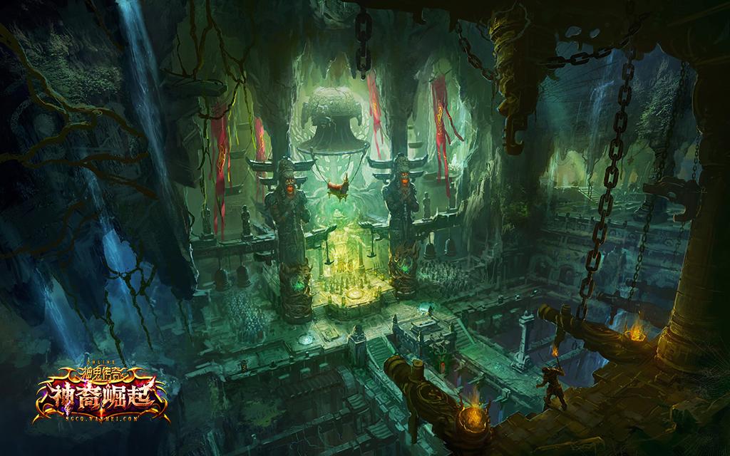 图片: 图片2+《神鬼传奇》古墓探险内景.jpg