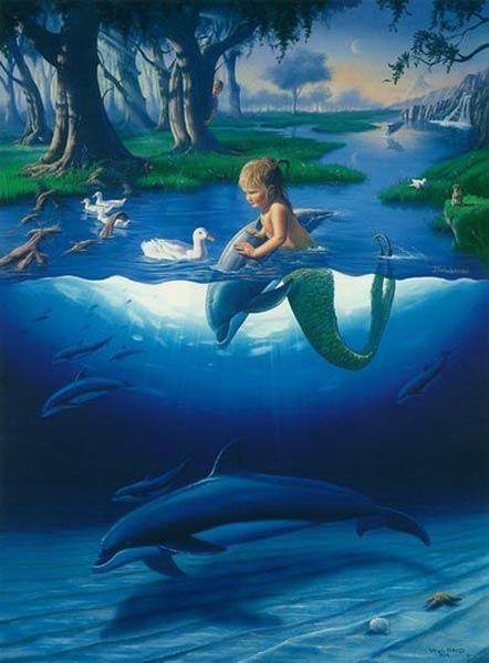 活的真实美人鱼图片图片大全 真实的美人鱼 中赢网图片